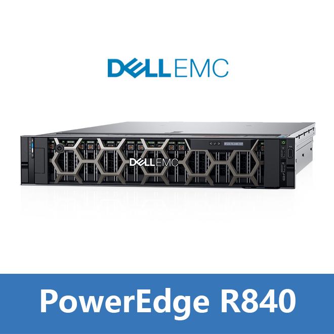 全新PowerEdge R840 机架式服务器主机