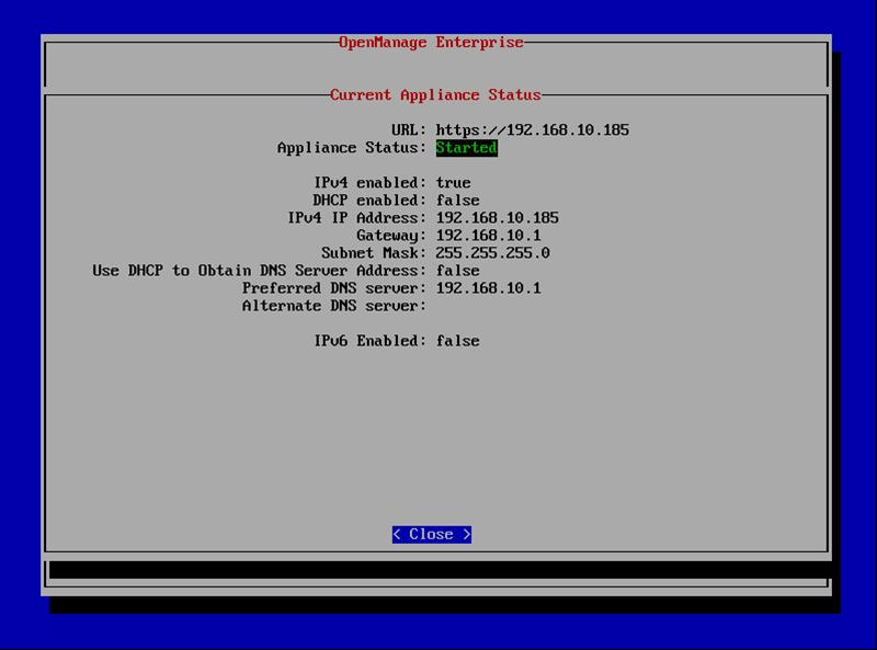 DELL OpenManage Enterprise安装